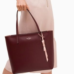 Kate Spade Zip Tote With Bow